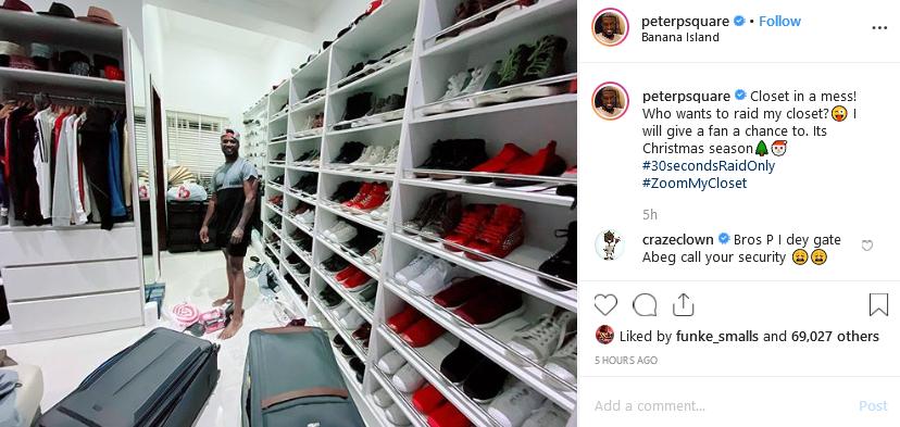 Peter Okoye's post