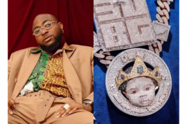 Davido and the necklace