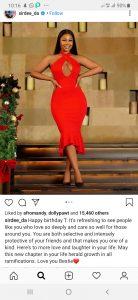 Screenshot 20191223 101606 Instagram 138x300 - Sir Dee Pens Emotional Birthday Message To Bestie, Tacha