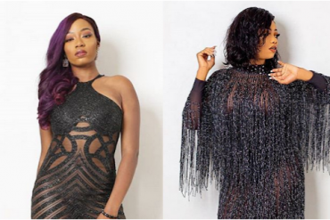 Tacha, Khafi Step Out In Risque Outfits For 'The Mayor Of Lagos Fest'
