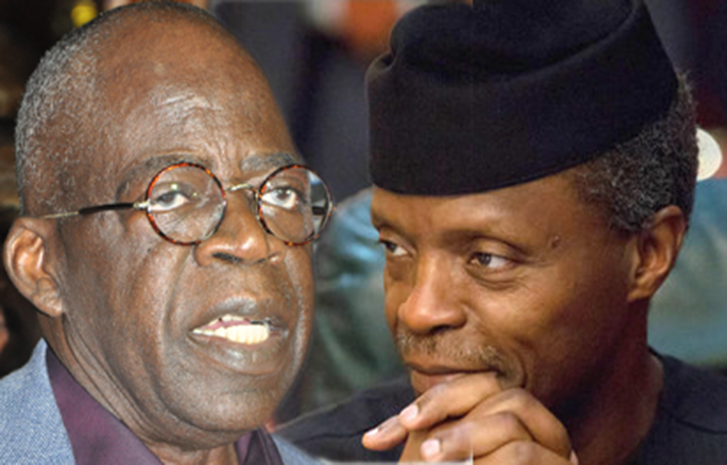 Ahmed Tinubu and VP Osinbajo