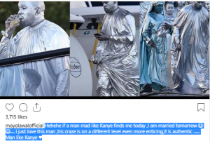 aw 300x201 - I Love Kanye West, Moyo Lawal Reveals