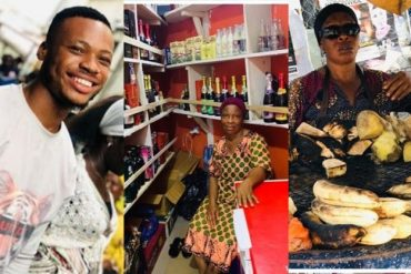 Poco Lee Converts Mother From Plantain Seller To Wine Shop Owner