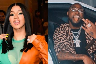 Davido Officially Welcomes Cardi B To Nigeria (Photo)