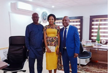 Diane, Seyi React As Cindy Bags Appointment With Abia Govt