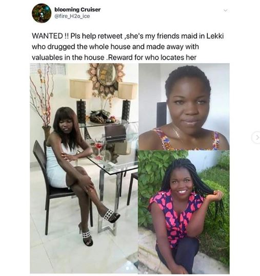 Househelp drugs an entire family