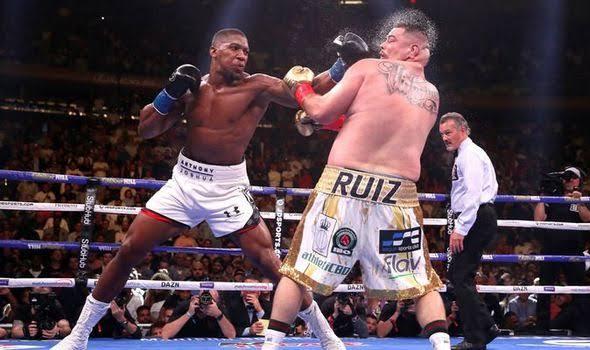 Andy Ruiz vs Anthony Joshua