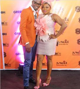 Funke Akindele and husband, JJC