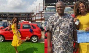 Khafi and new car