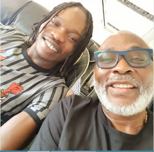 Nairamarley and RMD aboard a flight