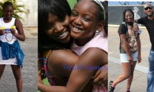 Annie Idibia and daughter, Isabella