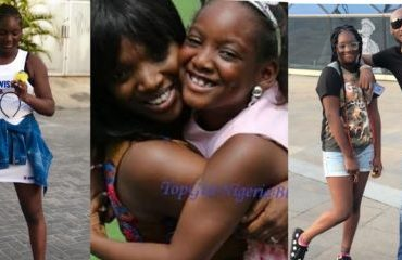 A Rare Child, My Goodluck Charm – Annie Idibia Writes As Daughter Turns 11