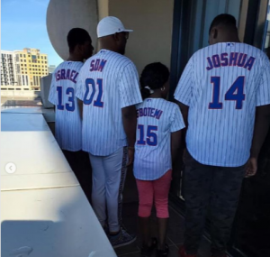 Dino Melaye and kids holidaying in the US