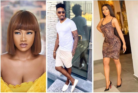 former BBNaija housemates, Tacha, Ike and Mercy