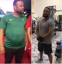 Collage photo of Okon Lagos
