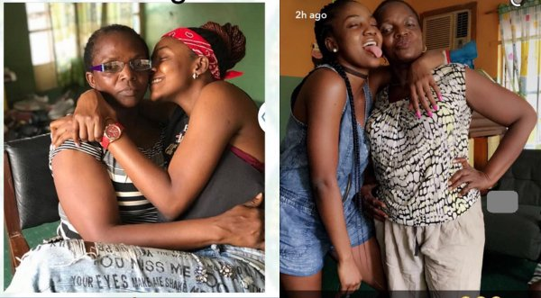 simi and mother - I Was Tush Before I Gave Birth To You – Simi's Mother Tells Singer (Video)