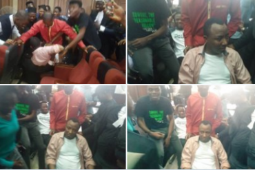 DSS Allegedly Attempts To Rearrest Sowore (Photos)