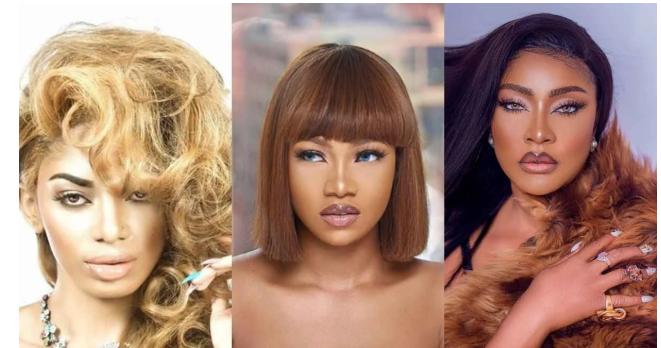 Tacha, Dencia, Angela Okorie