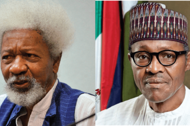 wole soyinka and Buhari