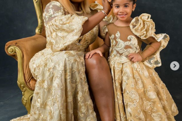 Anita Joseph Celebrates Daughter As She Turns A Year Older