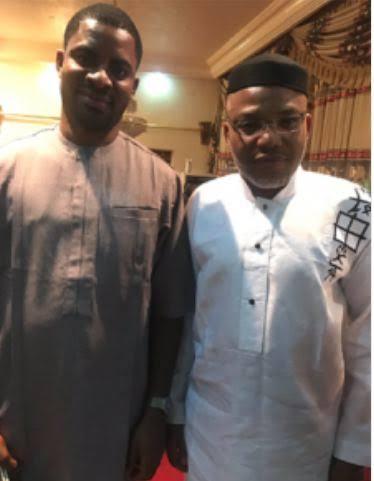 Deji Adeyanju and Nnamdi Kanu