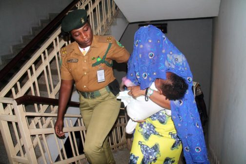 The alleged husband killer,, Maryam Sanda