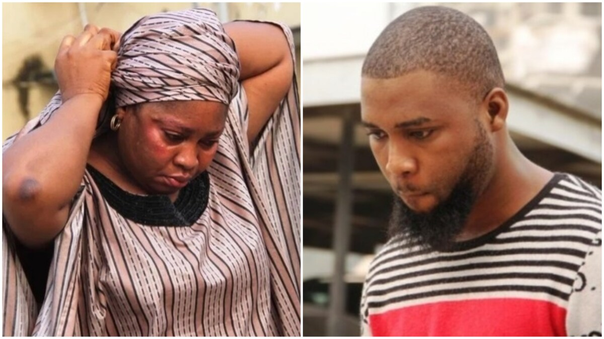 Nigerian Mother and Her Son