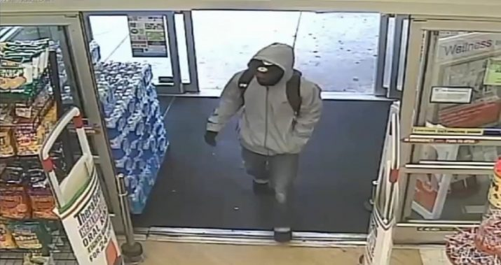 Suspected robber