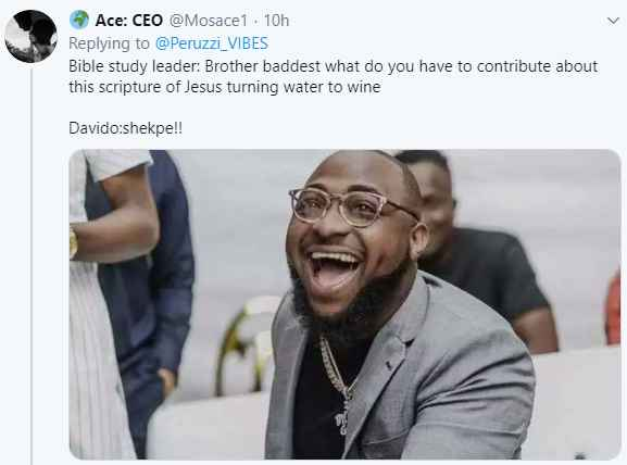 5e1d5a3a7535f - Fans Reacts As Davido Attends Bible Study (Photos)