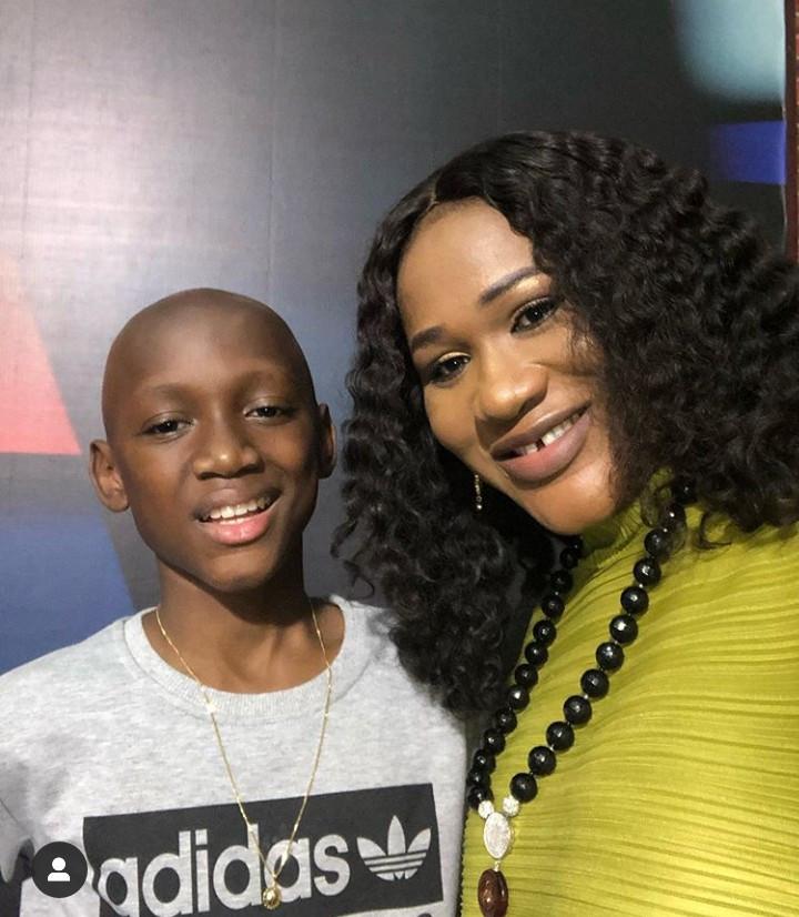 Sumbo Adeoye and Nino Idibia