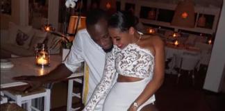Usain Bolt and girlfriend