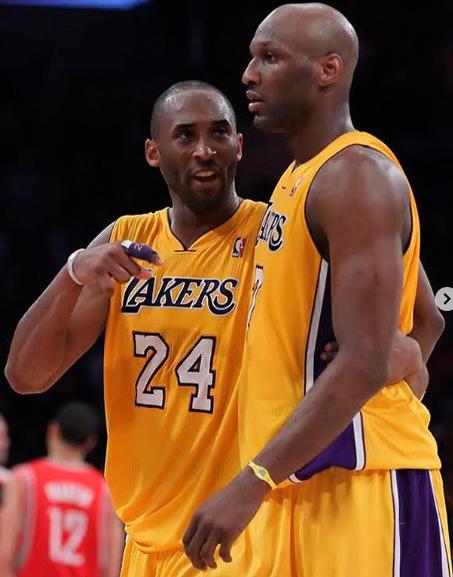 Lamar Odom , Kobe Bryant