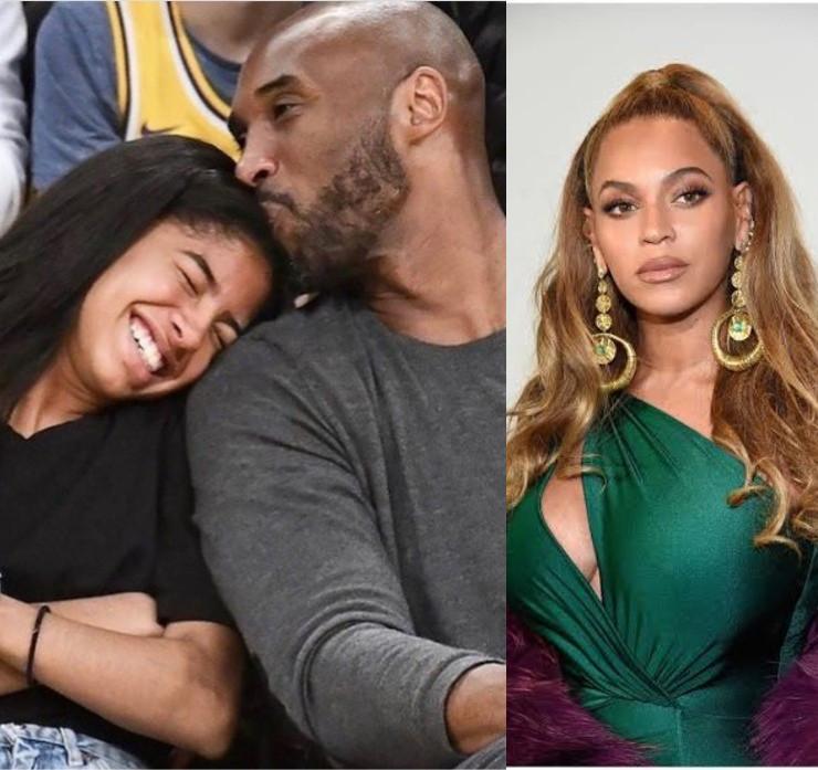 Beyonce, Kobe Bryant and Gianna