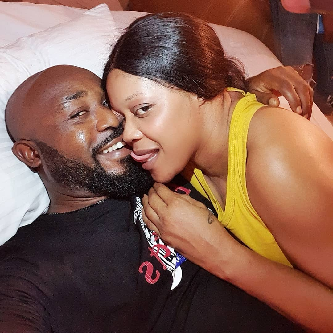 Nollywood stars, Eve Esin and Stanley Igboanugo
