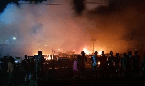 Abule Egba pipeline explosion
