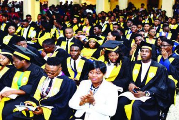 Benson Idahosa University Matriculates 616 Students