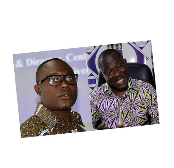 Prof. Ransford Gyampo and Dr. Paul Kwame Butakor,