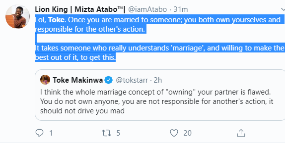 Capture 69 - You Do Not Own Your Partner In Marriage – Toke Makinwa