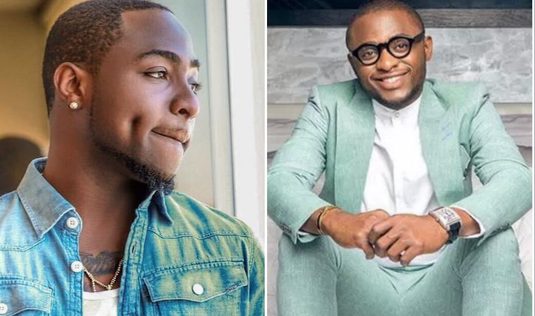 Davido and Ubi Franklin