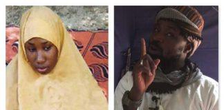 Leah sharibu and Boko haram member