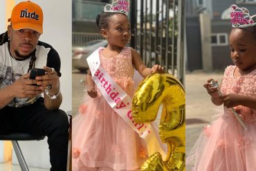 Mr Real Celebrates His Daughter's 3rd Birthday