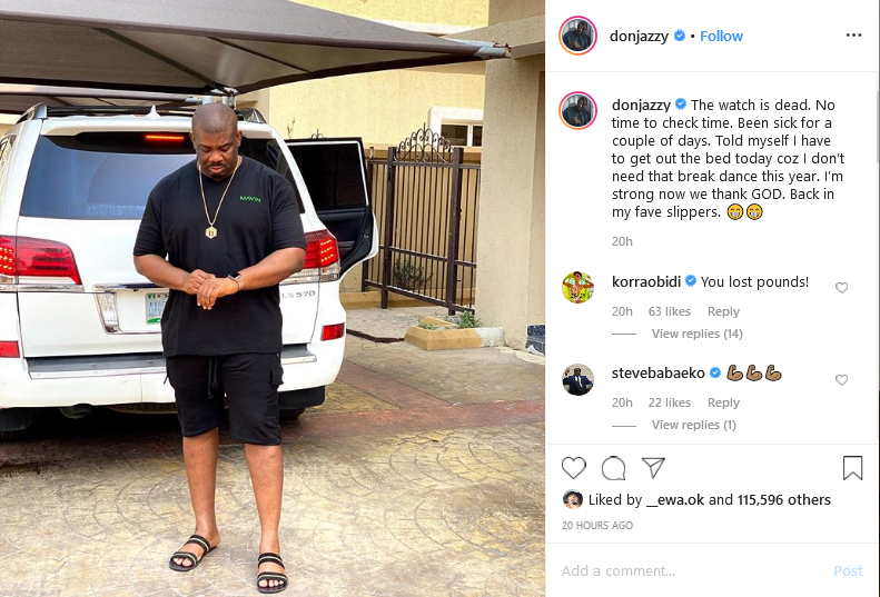 Don Jazzy's post
