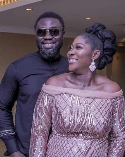Prince Odi Okojie and his wife, Mercy Johnson-Okojie