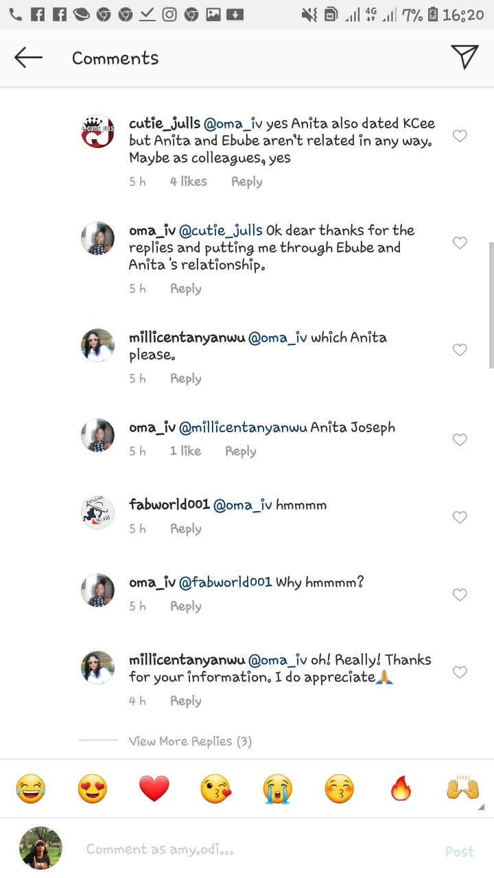 Screenshot 20200109 162041 Instagram - Instagram Blogger Claims Singer, Kcee Is Romantically Involved With Two Women (Photo)
