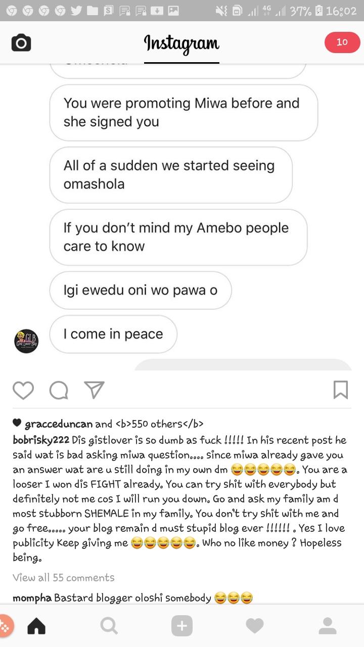 Bobrisky's post