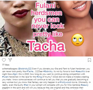 aa 300x293 - It Is Not By Force To Look Beautiful Like A Girl: Nollywood Actor Advises Bobrisky