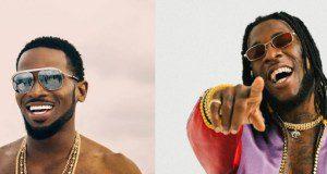 Nigerian artistes, D'banj and Burna Boy