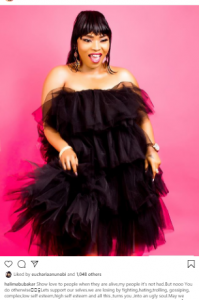 g 3 199x300 - Show Love To People When They Are Alive, Says Actress Halima Abubakar