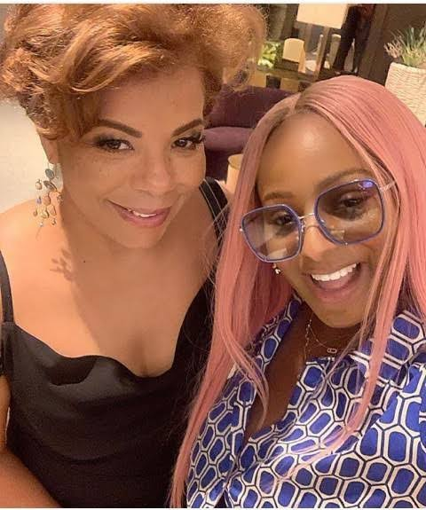 DJ Cuppy and her mom, Nana Otedola