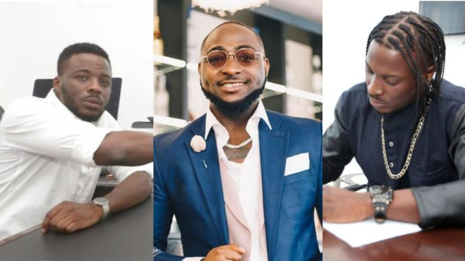 King Patrick, Davido and Peruzzi
